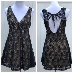 Dresses - Little Black Dress with gorgeous back lace detail
